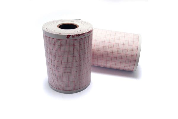 Papel Termosensible ECG 58mm x 25mts - Caja x8 rollos